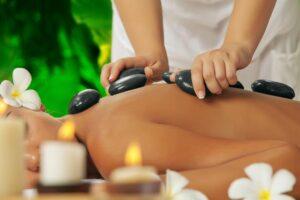 playoff wellness village - stone massage